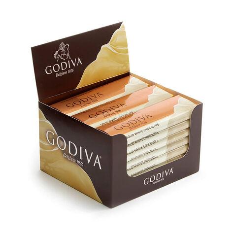 White Chocolate Bar, Pack of 24, 1.5 oz each