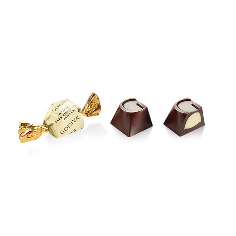Dark Chocolate Vanilla G Cube Box, Bulk