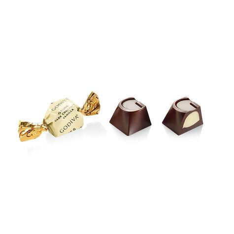 Dark Chocolate Vanilla G Cube Box, Set of 2, 22 pcs. each