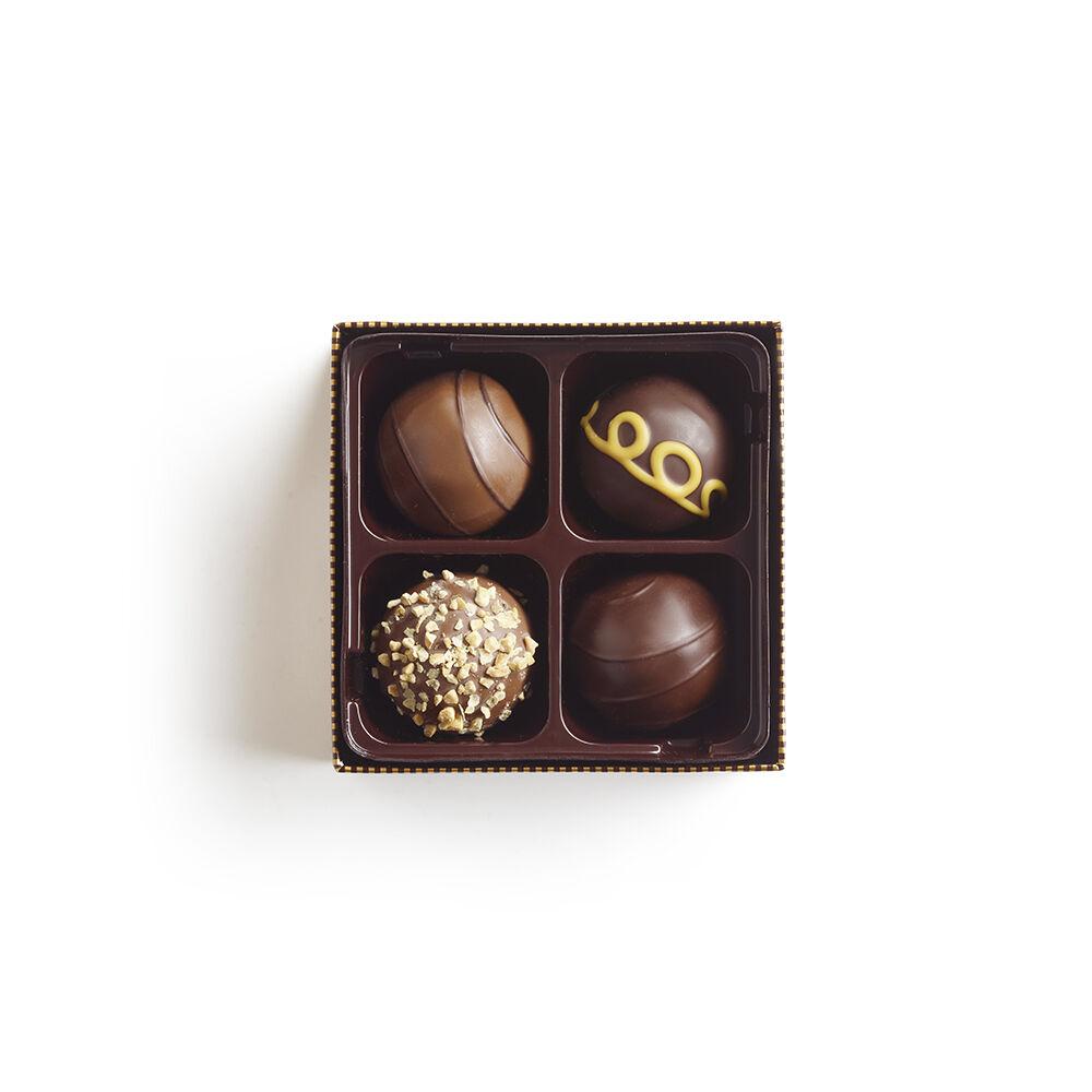 4 pc. Signature Chocolate Truffles