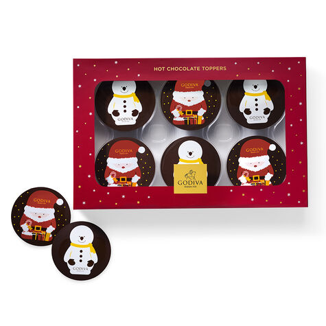 6-pc Hot Cocoa Toppers with Hot Cocoa Variety Pack