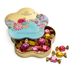 Spring Assorted G Cube Flower Tin, 32 pc.