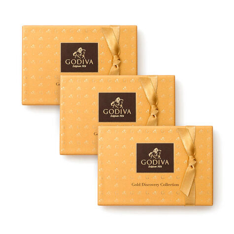 Gold Discovery Gift Box, Set of 3, 6 pc. each