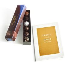 Create a Little Magic Journal with Dark Truffle Flight, 6 pc.