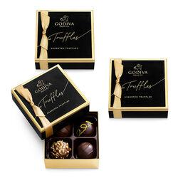 Signature Chocolate Truffles, Set of 3, 4 pc. each