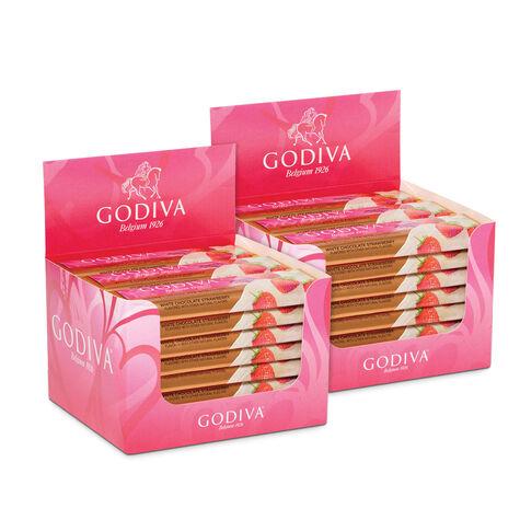 White Chocolate Strawberry Bar,  Pack of 48