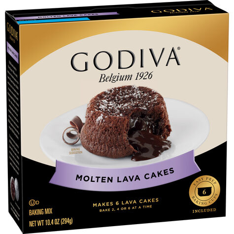 Molten Lava Cakes Baking Mix