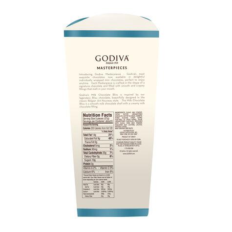 Spring Wrapped Bliss Godiva Masterpieces Milk Chocolate Box