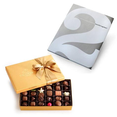 Create Something Beautiful Book & Assorted Chocolate Gold Gift Box, 36 pcs.