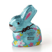 Foil-Wrapped Dark Chocolate Bunny
