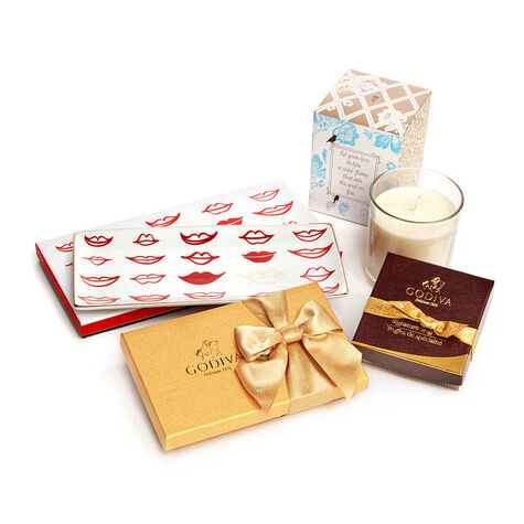 Date Night Gift Box Kisses Tray