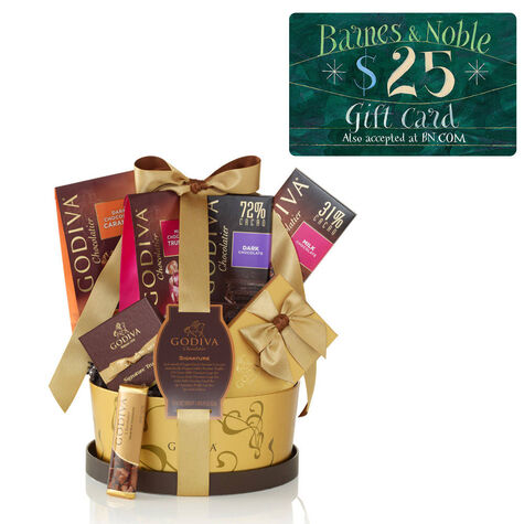 Signature Gift Basket and Barnes & Noble Gift Card