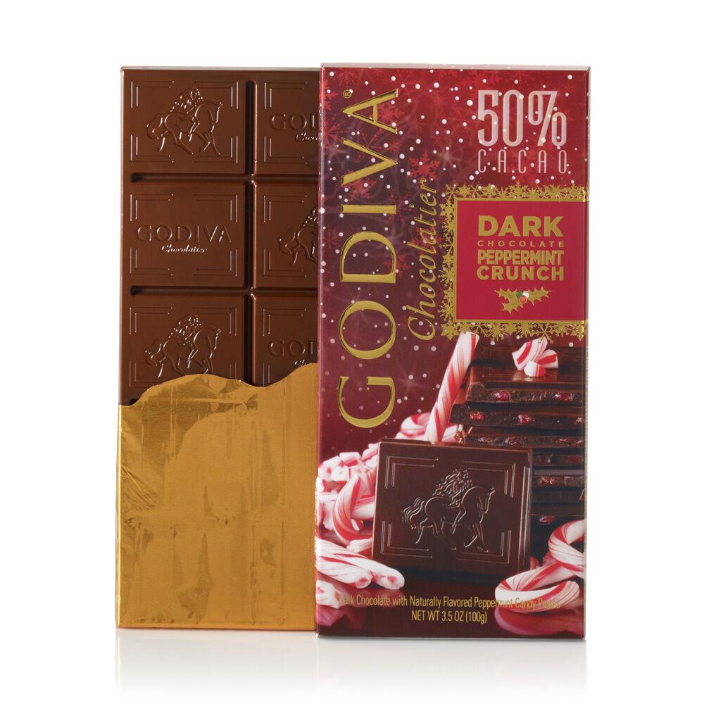 Dark Chocolate Peppermint Crunch Bar, 3.5 oz.