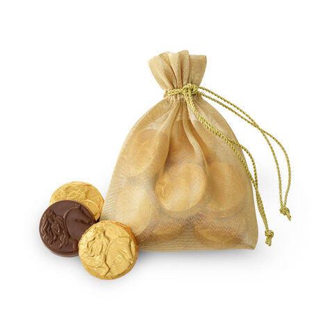 Gold Medallions Pouch