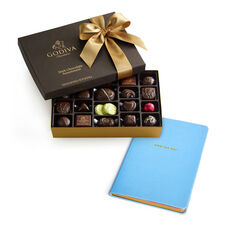 Own the Day Journal with Dark Chocolate Assortment Gift Box, 27 pc.