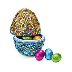 Collectible Beaded Easter Egg