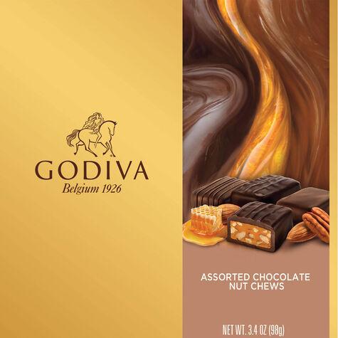 Assorted Nut Chew Chocolate Gift Box, 9 pc.