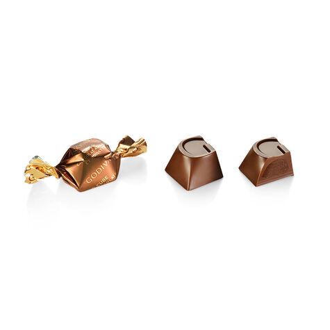 Milk Chocolate Hazelnut G Cube Box, Set of 2, 22 pcs. each