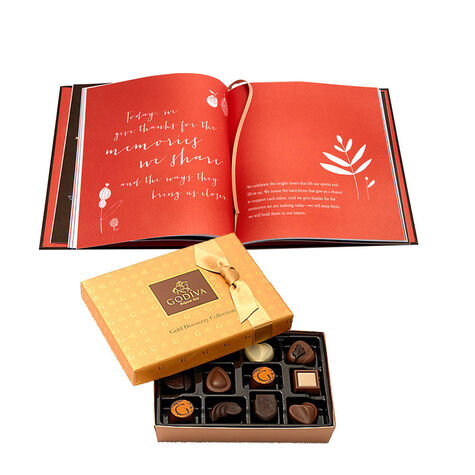 Giving Thanks Book & Gold Discovery Gift Box, 12 pc.
