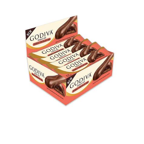 Layered Double Chocolate Bar, Set of 48