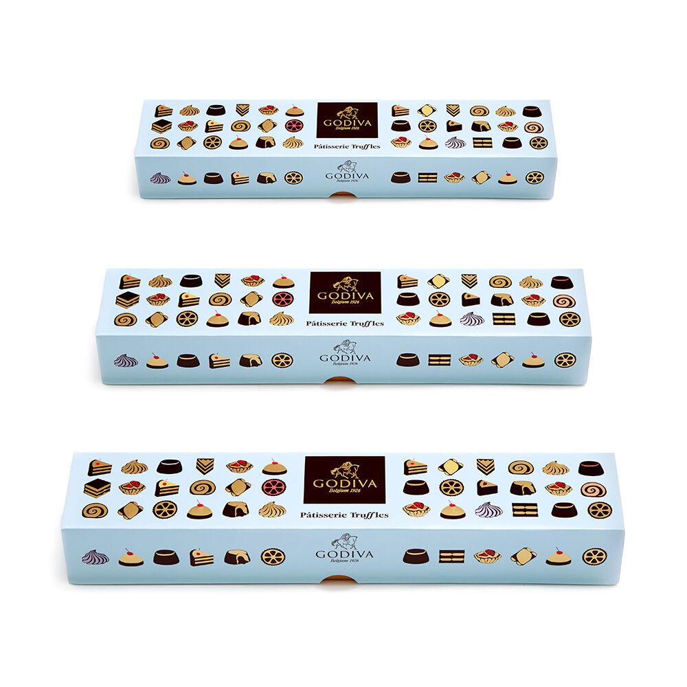 Patisserie Dessert Truffle Flight, Set of 3