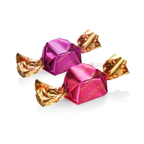 Milk Chocolate and Dark Chocolate G Cubes - Sample Pack