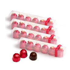 Chocolate Cherry Cordials, Set of 4, 6 pc.  Each