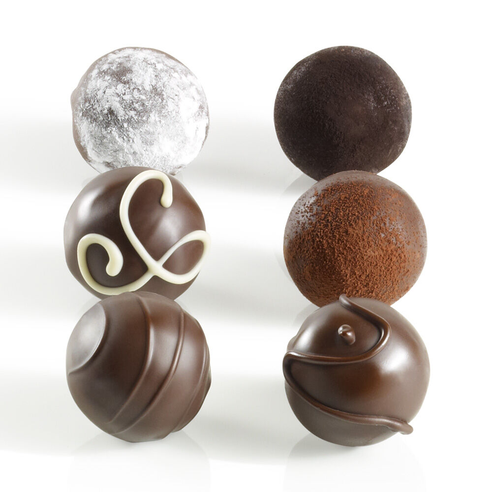 6 pc. Dark Decadence Truffle Flight