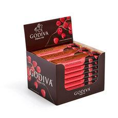 Dark Chocolate Raspberry Bar, Pack of 24, 1.5 oz each