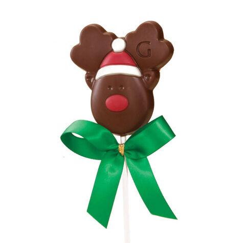 Milk Chocolate Reindeer Lollipop