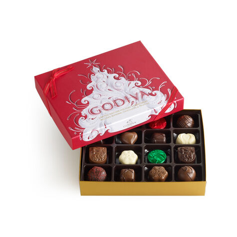 Holiday Chocolate and Truffle Gift Box