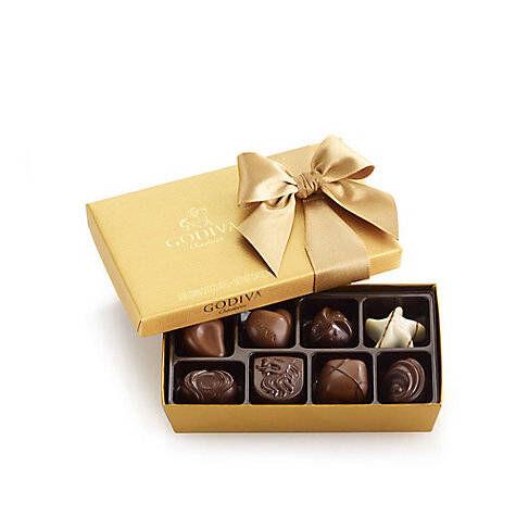 Pure Bliss Chocolate Gift Basket, Classic Ribbon