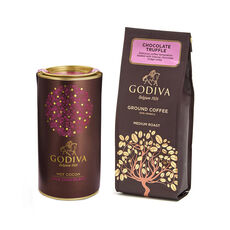 Chocolate Coffee and Milk Chocolate Cocoa Gift Set