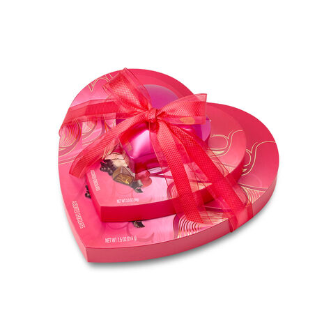 3-Tier Chocolate Heart Gift Tower