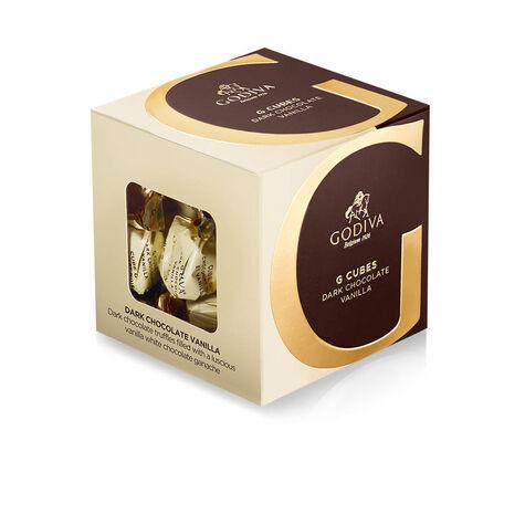 Dark Chocolate Vanilla G Cube Box, 22 pcs.