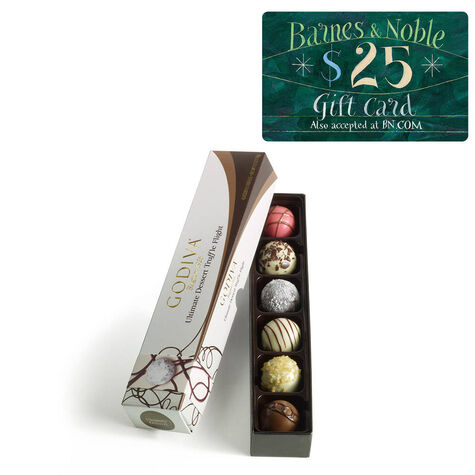 Ultimate Dessert Truffle Flight and Barnes & Noble Gift Card