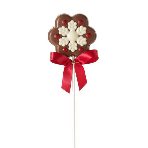 Milk Chocolate Snowflake Lollipop