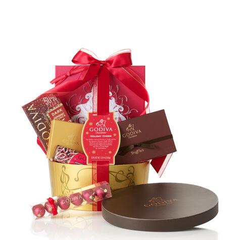 Holiday Cheer Gift Basket