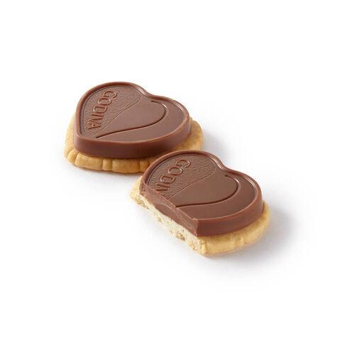 Coeur Lait Hazelnut Praliné Biscuit