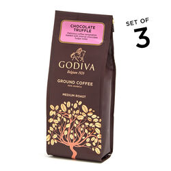 Chocolate Truffle Coffee, Ground, Set of 3, 10 oz. Each