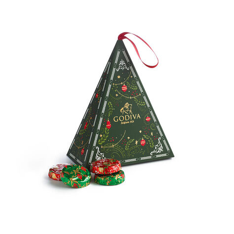 Chocolate Tree Ornament, 8 pc.
