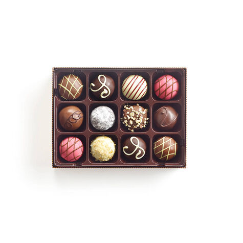 Ultimate Dessert Truffles Gift Box, 12 pc.