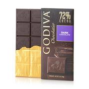 Dark Chocolate Bar, 72% Cocoa, 3.5 oz.