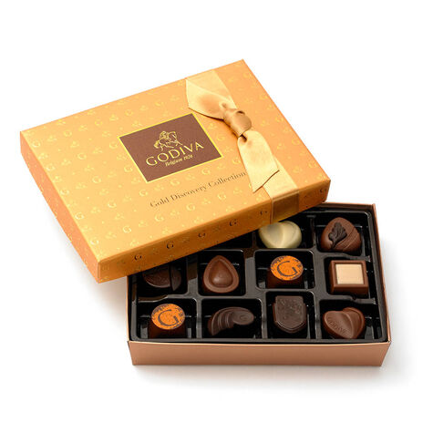 Gold Discovery Chocolate Treats Gift Set