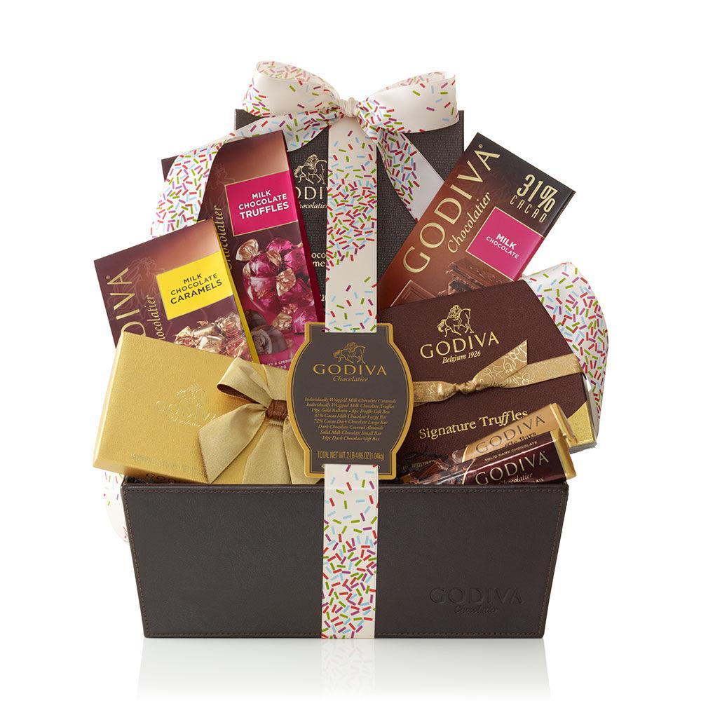Pure Bliss Gift Basket, Celebration Ribbon