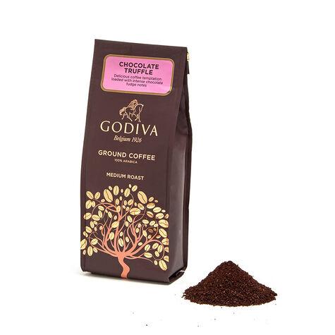 Cube Truffles Gift Box, 9 pc. & Chocolate Truffle Ground Coffee