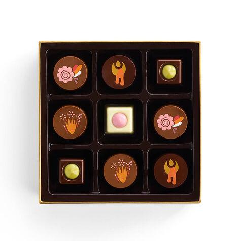 Chocolate Festival Gold Gift Box, 9 pc.