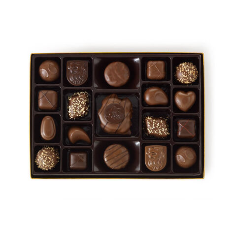 19 pc. Nut and Caramel Gift Box