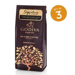 Signature Blend Ground Coffee, Set of 3, 10 oz. Each