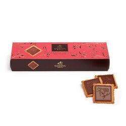 Lady Godiva Milk Chocolate Biscuits, 12 pc.